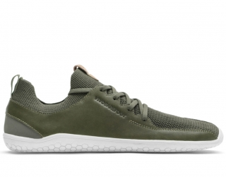 VIVOBAREFOOT PRIMUS KNIT L OLIVE GREEN LEATHER